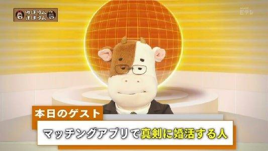 NHK・Eテレねほりんぱほりん マッチングアプリで婚活する人